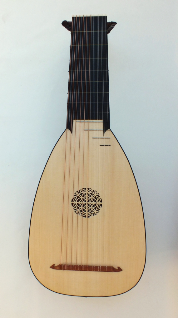 Luth 10 choeurs-Hans Frei-Félix Lienhard-luthier-luth-archiluth-théorbe-guitare baroque-