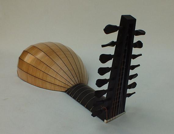 Luth renaissance d'après J. Hess-Félix Lienhard-luthier-luth-archiluth-théorbe-guitare baroque-